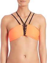 Pilyq Strappy Troy Bikini Top