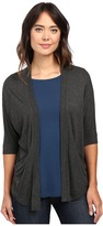 Lilla P Liquid Terry Dolman Sleeve Open Cardigan Women's Sweater