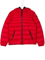 Ai Riders On The Storm Kids goggle hood puffer jacket