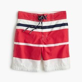 J.Crew Boys' board short in mixed-up stripe