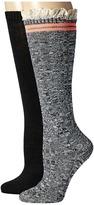 Steve Madden 2-Pack Varsity Lace Knee High Women's Knee High Socks Shoes