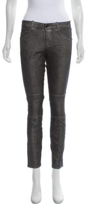 Marc by Marc Jacobs Cigarette Mid-Rise Jeans Grey Cigarette Mid-Rise Jeans