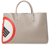 Anya Hindmarch Ebury Featherweight No Mobile Sign Maxi Leather Tote