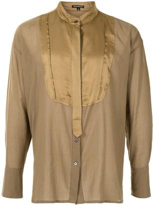 Ann Demeulemeester Oversized Mandarin Collar Shirt