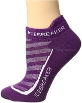Icebreaker Run + Ultra Light Micro 1-Pair Pack Women's No Show Socks Shoes