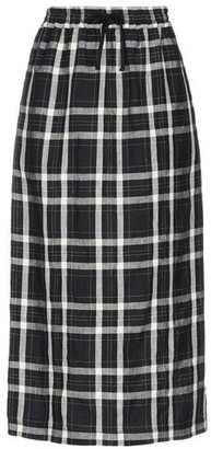 Hache 3/4 length skirt
