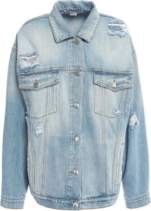 Stella McCartney Distressed Denim Jacket