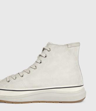 AllSaints Osun Run Suede Sneakers