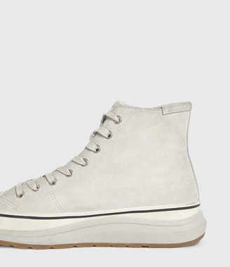 AllSaints Osun Run Suede Trainers