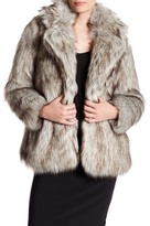 Betsey Johnson Faux Fur Coat