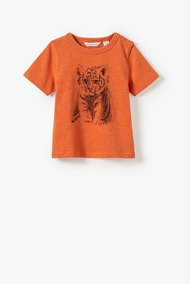 Country Road Organically Grown Cotton Baby Tiger T-Shirt