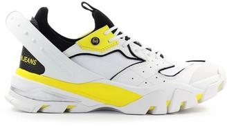 Calvin Klein Calador White Yellow Black Sneaker