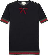 Gucci Frill sweatshirt cotton dress 4-12 years