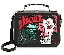 Moschino Women's Dracula Lunch Box Crossbody Bag