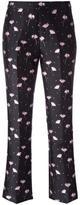 Giambattista Valli jacquard trousers - women - Polyamide/Polyester/Acetate - 42
