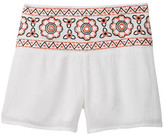 My Michelle mymichelle Embroidered Waistband Short (Big Girls)