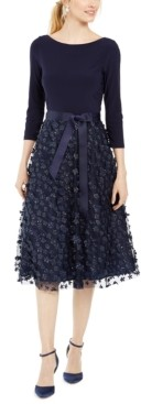 Jessica Howard 3D Floral Dress