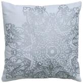 H&M Rizzy Home Metallic Medallion Textured Cotton Throw Pillow