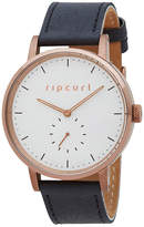 Rip Curl Circa Bronze Leather Watch Brown