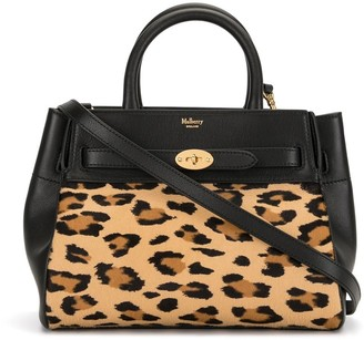Mulberry Bayswater leopard-print tote