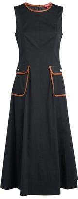 STAUD Bait Midi Dress