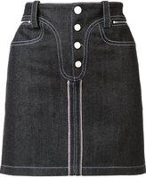 Paco Rabanne denim mini skirt - women - Cotton - 38