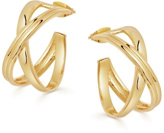 Missoma Gold Small Infini Hoops