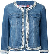 GUILD PRIME cropped denim jacket - women - Cotton - 34