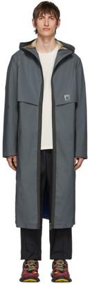 Oakley by Samuel Ross Grey Seamline Coat