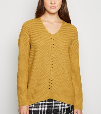 New Look V Neck and Back Jumper