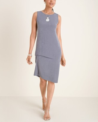 Travelers Classic Travelers Collection Drape-Front Dress