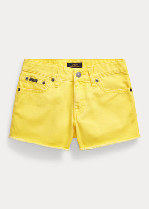 Ralph Lauren Polo Cotton Denim Short