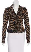 Tracy Reese Patterned Asymmetrical Jacket