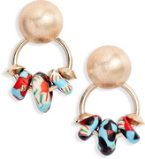 Akola Glass Beaded Drop Earrings
