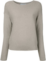 Vince loose-fit ribbed jumper - women - Cotton - M