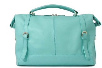 Neyuh Leather The Anne Crossbody Bag Turquoise