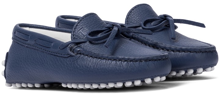 Tod's Junior Gommino leather moccasins