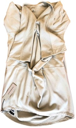 Rick Owens Grey Cotton Dresses