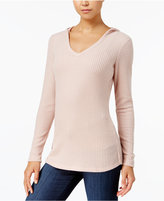 Ultra Flirt Juniors' Thermal Hoodie Top