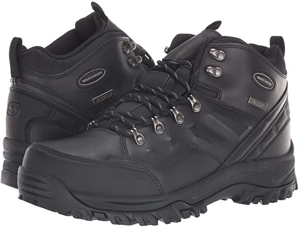 arco aire Elevado  Skechers Waterproof Boots For Men | Shop the world's largest collection of  fashion | ShopStyle