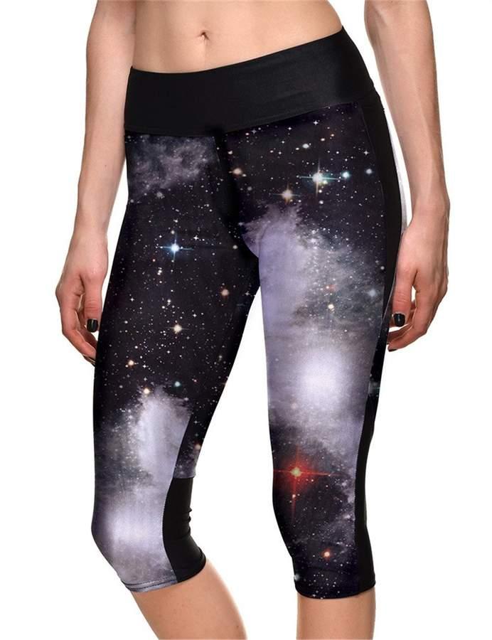 44ac631cc7b3c Galaxy Print Leggings - ShopStyle Canada