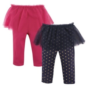 Hudson Baby Tutu Leggings, 2-Pack, 0-24 Months
