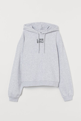 H&M Boxy hooded top