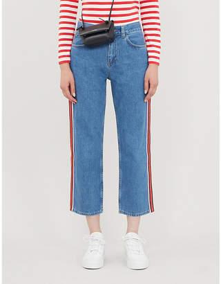 Claudie Pierlot Priscah straight high-rise jeans