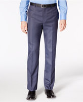 Calvin Klein Men's Neat Slim-Fit Stretch Dress Pants