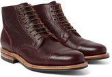 Viberg - Service Leather Brogue Boots