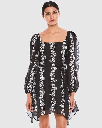 Talulah Whimsy Long Sleeve Mini Dress
