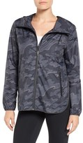 Ivy Park Women's Camo Print Wrap Back Jacket