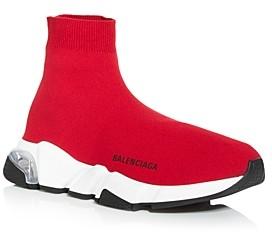 Balenciaga Men's Speed Knit High Top Sneakers