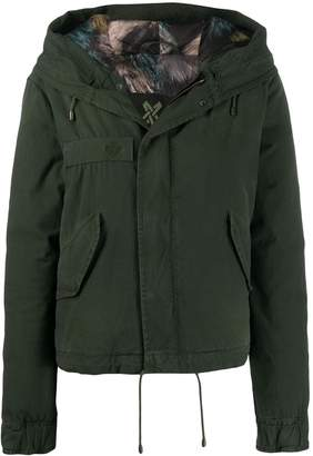 Mr & Mrs Italy hooded parka jacket